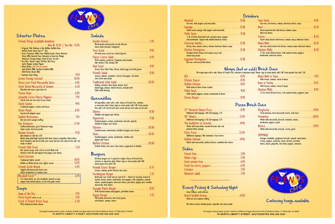 The Restaurant - Friends Cafe Restaurant and Bar